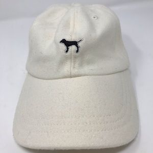 Pink Victoria's Secret Baseball Cap with Dog Logo